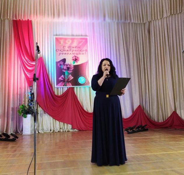 В Лиде прошло мероприятие, посвященное Дню Октябрьской революции.