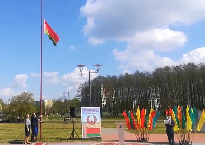 Вчера в Беларуси отметили День Государственного герба и Государственного флага.