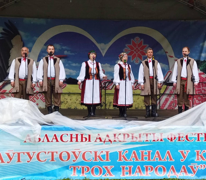 Последние выходные лета выдались насыщенными для народного ансамбля польской песни «Крэсовяцы»